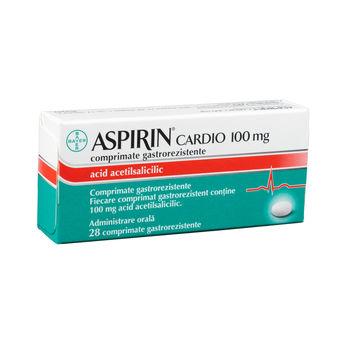 cumpără Aspirin Cardio 100mg comp. gastrorez. N14x2 în Chișinău