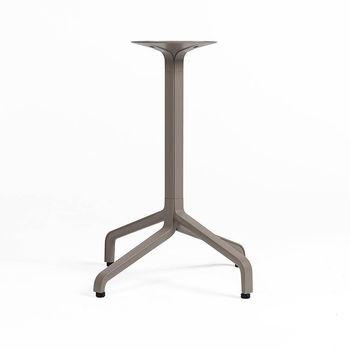 Picior (baza) de masa aluminiu Nardi BASE FRASCA MINI FIX vern. tortora 53359.00.000