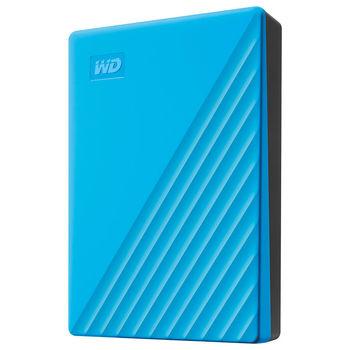 """2.5"""" 4TB External HDD WD My Passport Portable WDBPKJ0040BBL-WESN, Blue, USB 3.2 (hard disk extern HDD/внешний жесткий диск HDD)"""
