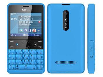 Nokia Asha 210 Cyan