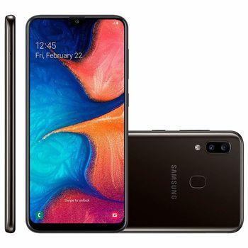 cumpără Samsung Galaxy A20 2019 3/32Gb Duos (SM-A205), Black în Chișinău