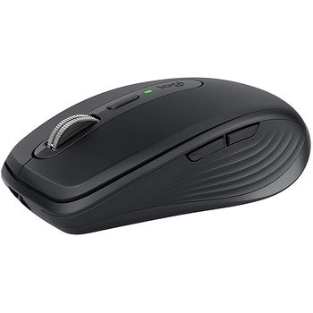 Logitech Wireless Mouse MX Anywhere 3 Graphite, 6 buttons, Bluetooth + 2.4GHz, Optical, 200-4000 dpi,Effortless multi-computer workflow pair up to 3 devices, Unifying receiver, 910-005988 (mouse/мышь)