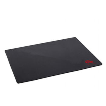 Gembird MP-GAME-L, Gaming Mouse pad, Dimensions: 400 x 450 x 3 mm, Material: natural rubber foam + fabric, Black