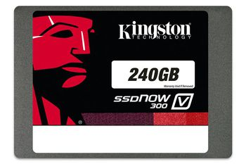 "2.5"" SSD 240GB Kingston SSDNow V300 Notebook Bundle Kit SATAIII Sequential Reads:450 MB/s, Sequential Writes:450 MB/s, Maximum Random 4k: Read: 85,000 IOPS / Write: 55,000 IOPS, 7mm, Controller LSI® SandForce®,  + additional Kingston 2.5"" USB Enclosu"