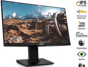 "Монитор 23.8"" ASUS TUF Gaming VG249Q Gaming Monitor WIDE 16:9, 0.2745, 1ms, 144Hz, FreeSync&Adaptive-Sync, Pivot, Contrast 1000:1, H:30-180kHz, V:48-144Hz, 1920x1080 Full HD, Speakers 2x2W, HDMI v1.4/D-Sub/Display Port 1.2, (monitor/монитор)"