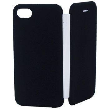 купить Чехол Senno Flip Cover Rubber  Iphone 7/8 Plus , Black в Кишинёве