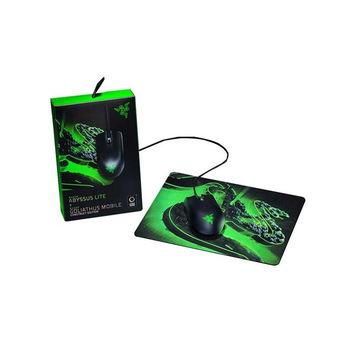 купить Bundle RAZER Mouse Abyssus Lite & Mouse pad Goliathus Mobile Construct Ed. Bundle / Mouse Abyssus Lite в Кишинёве