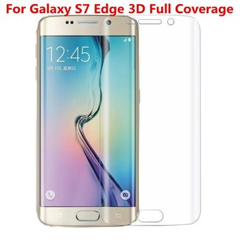 купить Защитное стекло Full Cover (3D)  Samsung Galaxy S7 EDGE в Кишинёве