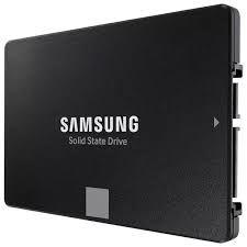 2,5-дюймовый твердотельный накопитель SATA 1,0 ТБ Samsung 870 EVO «MZ-77E1T0BW» [Ч / З: 560/530 МБ / с, 98 000 операций ввода-вывода в секунду, MGX, V-NAND 3 бит MLC]