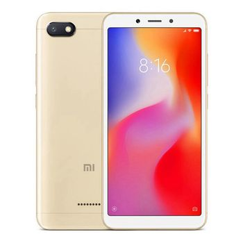 "Xiaomi RedMi 6A EU 16GB Gold, DualSIM, 5.45"" 720x1440 IPS, Mediatek Helio A22, Octa-Core 2.0GHz, 2GB RAM, microSD (uses SIM 2 slot), 13MP/5MP, LED flash, 3000mAh, WiFi-N/BT4.2, LTE, Android 8.1 (MIUI 9), Infrared port"