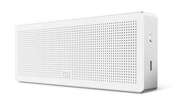 "Xiaomi ""Mi Square Box"", Portable Bluetooth Speaker, White, 3.6W (1.8Wx2) RMS, BT4.0, NFC, Rechargeable Battery: 1200mAh, Battery Life: 10 hours, Microphone, Support A2DP/AVRCP/HSP/HEP"