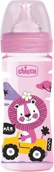 купить Chicco Бутылочка пластиковая с силиконовой соской,250 мл в Кишинёве