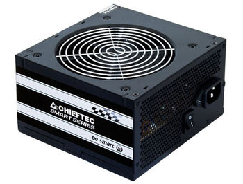 Блок питания 500W ATX Power supply Chieftec GPS-500A8, 500W, Black, ATX-12V V.2.3 PSU, FAN 12cm, 3xSATA, 1x PCI Express, Retail+Power Cable, Active PFC (Power Factor Correction)