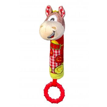 Игрушка-пищалка с прорезывателем PONY