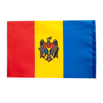 купить Флажок настольный Молдова или других стран - 22,5x15 см в Кишинёве