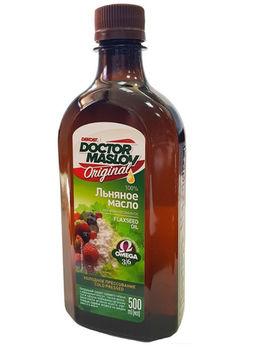 """🌿 Льняное масло """"Original"""" в пластиковой бутылке, 500 мл. «Доктор Маслов»"""