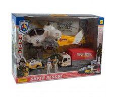 купить Игровой набор с вертолетом rescue в Кишинёве