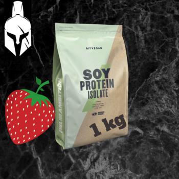 Изолят соевого протеина ( Soy Protein Isolate ) - Клубника - 1 KG