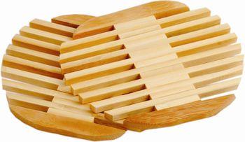 Подставка под горячее бамбуковая