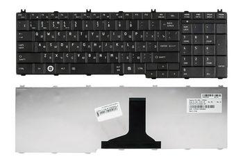 Keyboard Toshiba Satellite C650 C660 C670 C675 C750 C755 C770 C775 L650 L660 L670 L675 L750 L755 L770 L775 ENG/RU Black