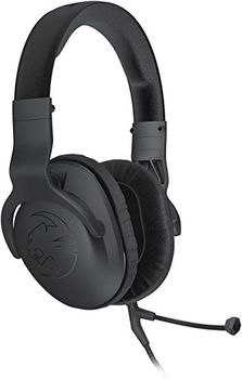 ROCCAT Cross / Multi-platform Over-ear Stereo Gaming Headset, Detachable Dual Microphones (for PC and Mobile), Volume Control, 50mm driver units, Powerful bass, Multi-platform support (PC/PS4/XBOX/Mobile), 1.2+2.35 m detachable cables, 3.5mm jack