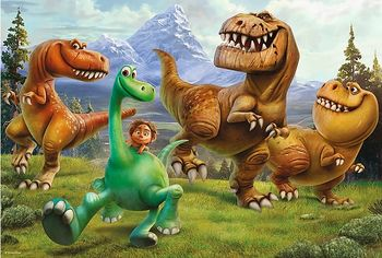 "16282 Trefl Puzzle - ""100"" - Let's trek / Disney The Good Dinosaur"