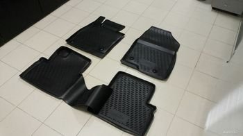 MAZDA 3, 2013-> 4 шт. Коврики в салон