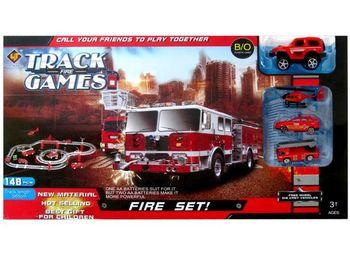 """Трек для гоночных машин """"Fire"""" + 4 машины"""