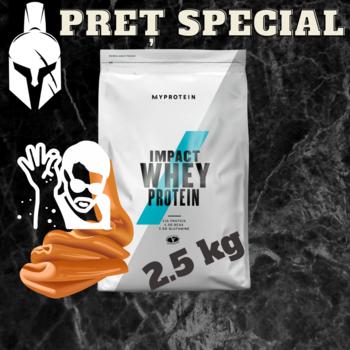 Сывороточный протеин (Impact Whey Protein) - Соленая карамель - 2.5 KG
