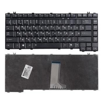 Keyboard Toshiba Satellite L300 A200 A300 A205 A210 A215  A305 L305 L315 L510 L515 Portege M200 M205 M215 M300 M305 M310 M315 M320 M325 M330 M335 M351 M355 ENG/RU Black