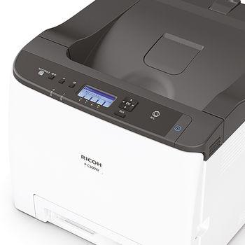 RICOH P C300W Accesibil, compact și ușor de conectat, RICOH P C300W oferă o imprimare color superioară.