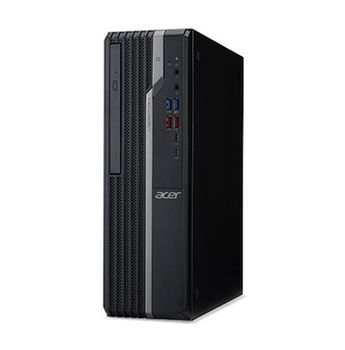 Acer Veriton X2660G SFF (DT.VQWME.014) Intel® Core® i5-8400 up to 4.0 GHz, 8GB DDR4 RAM, 128GB SSD + 1TB HDD, DVD-RW, Intel® UHD 630 Graphics, HDMI, DP, VGA, COM-port, 180W PSU, Endless OS, USB KB/MS, Black, 3 Year Warranty