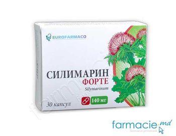 купить Силимарин Форте, 140 мг N30 капсулы (Eurofarmaco) в Кишинёве