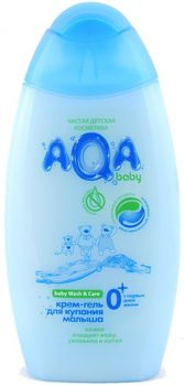 купить Aqa Baby Крем-гель для купания малыша (300 мл.)80.22 в Кишинёве