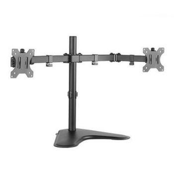"""cumpără Table/desk stand for 2 monitors ITECH MBES-12F, 10""""-27"""", max.8kg, VESA: 50x50, 75x75, 100x100 în Chișinău"""
