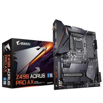MB S1200 Gigabyte Z490 AORUS PRO AX 1.1  ATX //  CPU