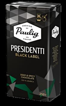 Кофе Paulig Presidentti Black 250г молотый