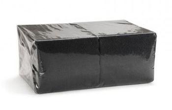 Салфетки столовые 250 шт 33*33(черные)