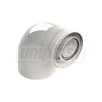 купить Отвод дымохода 90° Victrix dn 60/100  конденсат в Кишинёве