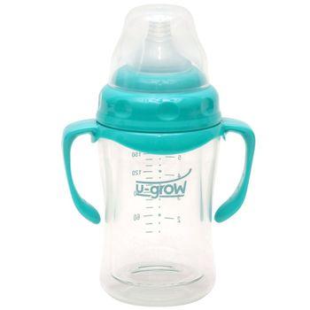 cumpără U-Grow Biberon 0-3 luni din Sticla 120ml Gat Larg cu Protectie Plastic Moale A-1055 în Chișinău