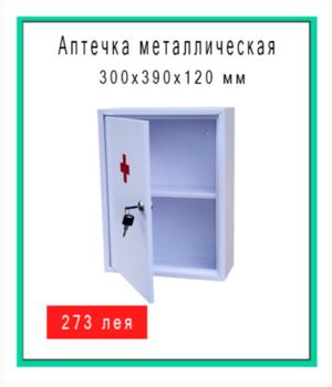 Аптечка металлическая