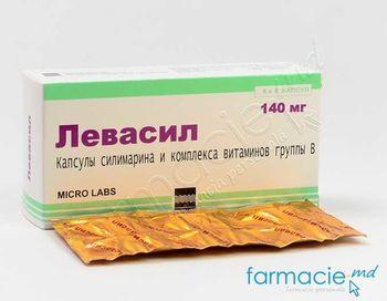 купить Levasil-140mg caps. N30 в Кишинёве