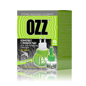 cumpără OZZ Standart Set diffuzor+lichid 45 nopti, 30ml în Chișinău