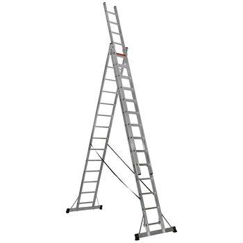 купить Трехсекционная лестница (3x14ст) TS220 в Кишинёве