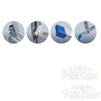 купить Ascara .VHR P 3x16  Лестница алюминиевая трехсекционная Elkop в Кишинёве