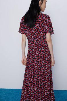 Платье ZARA Цветочный принт 7725/061/800