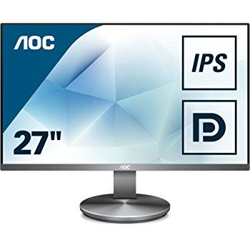 "27.0"" AOC IPS LED I2790VQ/BT Borderless (4ms, 50M:1, 250cd, 1920x1080, 178/178, HDMI, Display Port, Borderless display, Speaker, VESA)"