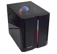 Корпус mATX Chieftec Chieftronic M1, без БП, 1x120мм RGB, 2xUSB3.0, 2xUSB2.0, Temperd Glassl, черный