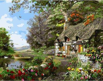 Картина по номерам 40x50 Утренние краски VA0445