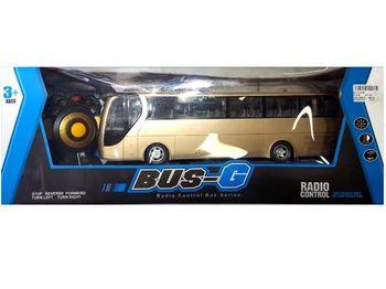 """Автобус Р/У """"Bus-G"""" с батареей и вкл. фарами 54Х20Х15cm"""
